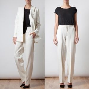 BLK DNM Tailored Trousers Wide Leg Tailored Slacks